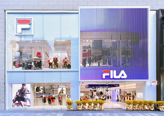 先锋时尚进阶 FILA全新形象重磅登陆厦门万象城