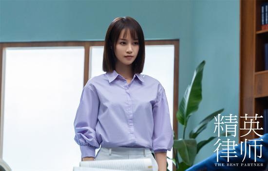 蓝盈莹《精英律师》遇职场困惑 学历背后真相曝光