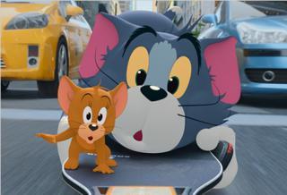 《猫和老鼠》大电影曝新海报预告 汤姆杰瑞大闹都市快乐回归